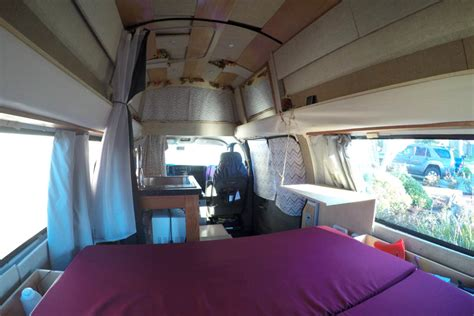 gypsy  super awesome camper van conversion defying normal