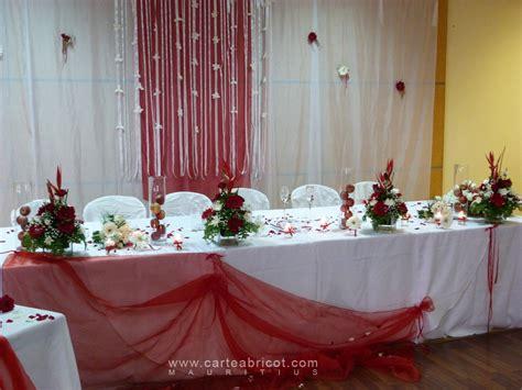 deco table mariage mariage en et blanc