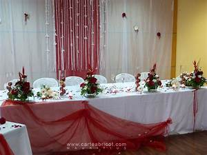 Decoration De Table De Mariage : mariage en rouge et blanc ~ Melissatoandfro.com Idées de Décoration