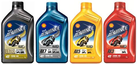 New Shell Advance Lubricant Oil For Motorcycles Best