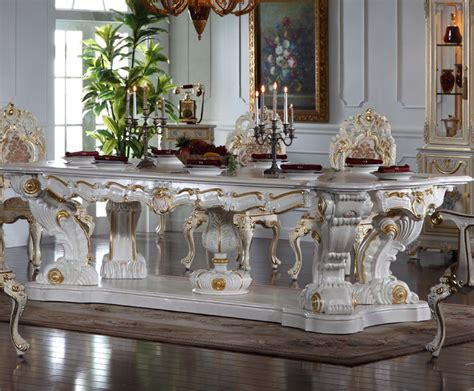italian dining table sets italian baroque style hand carved luxury table sets