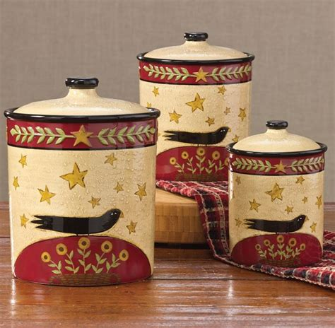 Primitive Kitchen Canister Sets by 25 Best Ideas About Primitive Canisters On
