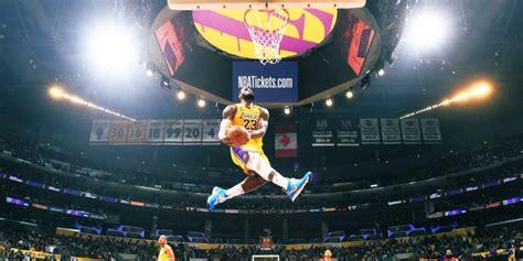 le dunk spectaculaire de lebron james video
