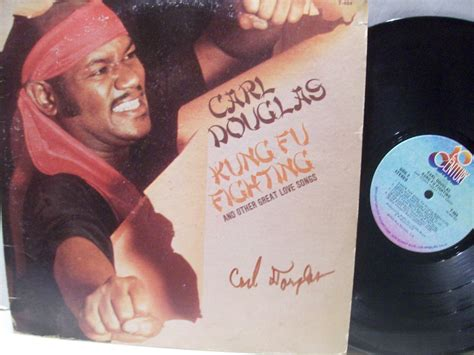 Carl Douglas Lp Signed Autograph Kung Fu Fighting
