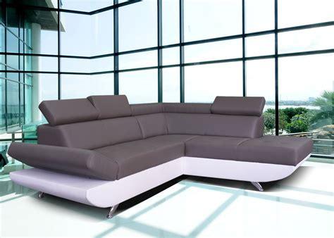 canapé simili cuir blanc canapé d 39 angle simili cuir blanc pas cher