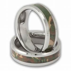 women39s tungsten woodland camouflage wedding ring shop With camo wedding rings tungsten