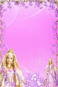 Free Download - 4 Barbie Frames  Barbie