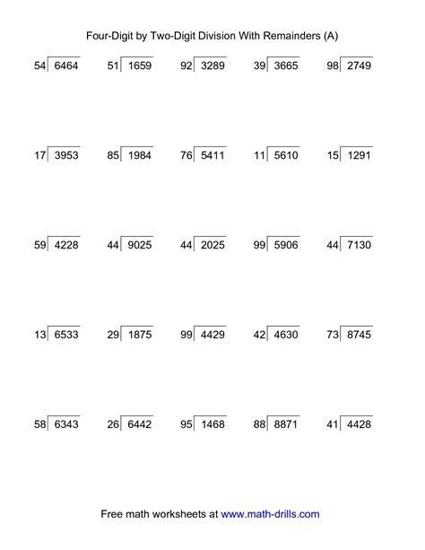 long division worksheet year  google search long
