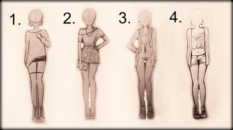 Drawing Tutorial - How to draw 4 spring outfits (+playlist)   me gusta   Pinterest   Drawing ...