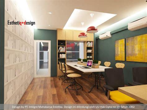 desain kantor minimalis unik modern terbaru