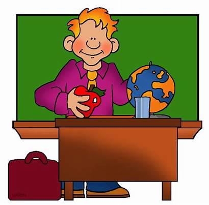Classroom Clipart Teacher Clip Martin Phillip Transparent