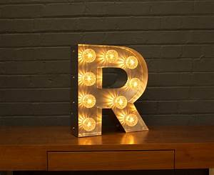light up marquee bulb letters r by goodwin goodwin With bulbs for marquee letters