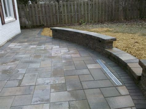 cost to install concrete pavers cost of concrete patio pavers modern patio outdoor