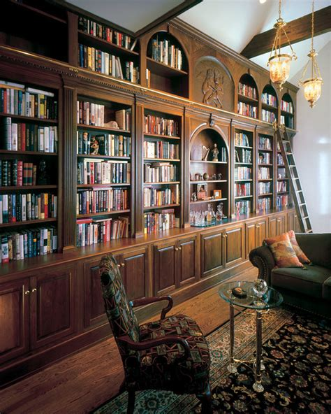 traditional home library cunningham library traditional home office library new york by odhner odhner fine