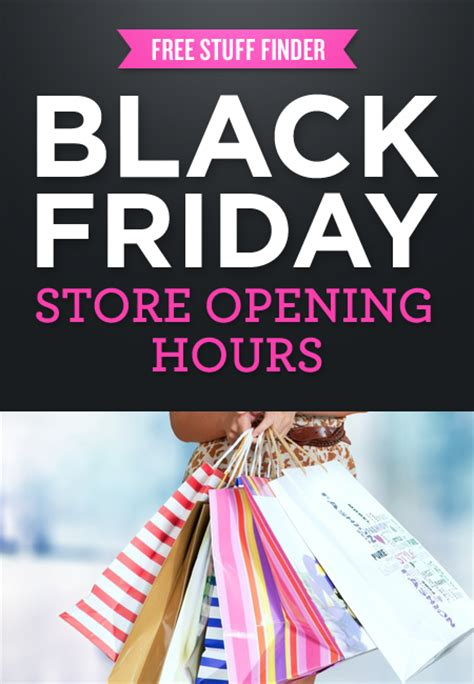 black friday store hours opening times 2015