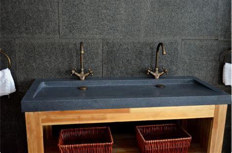 robinet de cuisine vasques en yate à poser 120x50 granit haut
