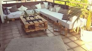 Paletten Lounge Möbel : paletten lounge auf unsrer terasse fertig home sweet home pinterest lounges ~ Sanjose-hotels-ca.com Haus und Dekorationen