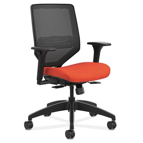orange desk chair saturn mesh back office chair in orange eurway