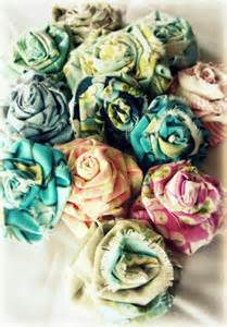 shabby fabric flower tutorial shabby chic fabric flower tutorial images