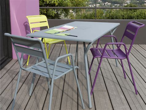 chaise leroy merlin stunning table jardin aluminium couleur ideas amazing