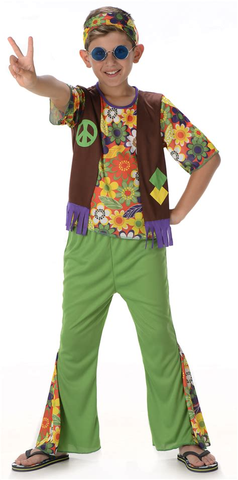 Hippie Boys Costume | 1960s Costumes | Mega Fancy Dress