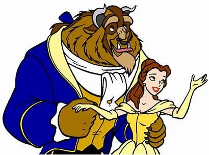 Beast Clipart Disney Belle Princess Fera Clip