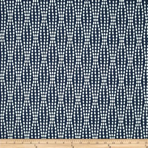 waverly strands jacquard navy discount designer fabric