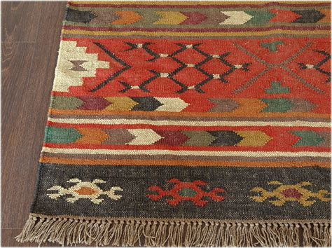 Rugs Home Decorators Collection: Home Decor: Fetching Flat Weave Wool Rug Plus Southwestern