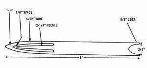 Make A Gauge Block And Netting Needle - Diy