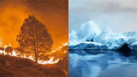 artists harness  power  fire  ice  shape