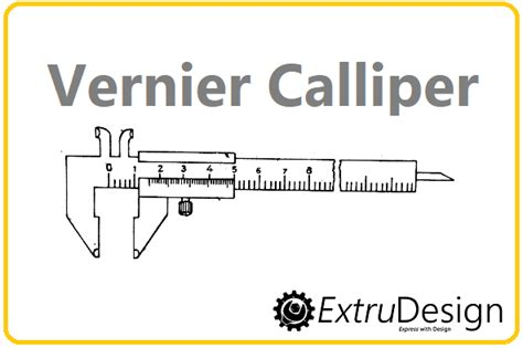 Diagram Of Vernier Caliper by Vernier Calliper Diagram Working Principle Extrudesign