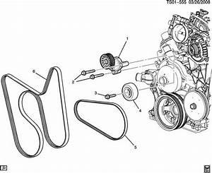 2008 C Compressor Belt New Oem 12603509