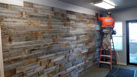 Reclaimed Wind Fence Wall Planks