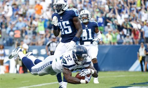 replay seahawks rookie chris carson scores   nfl