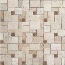 instant mosaic peel and stick natural stone 12 in x 12 in