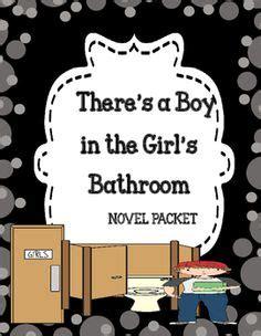 boy   girls bathroom classroom display