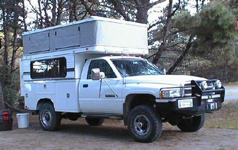 Utility Truck Bed Camper