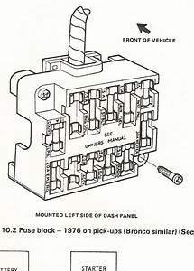 1977 Ford F 250 Fuse Box Diagram