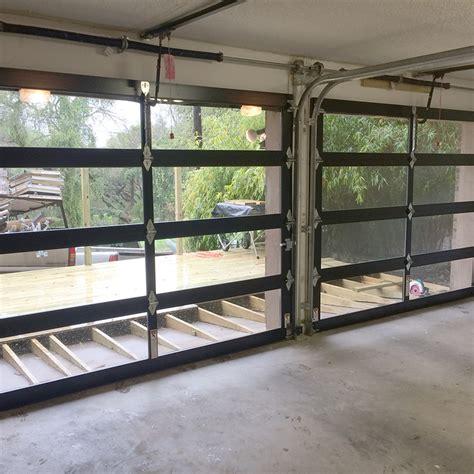 glass garage doors glass garage doors doug s garage door service