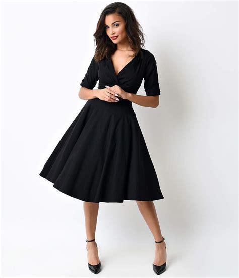 sabrina midi dress dresses 1930s 1940s 1950s
