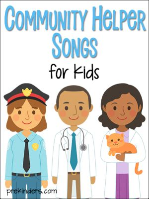 community helper activities and lesson plans for pre k and 374 | community helper songs 300x400