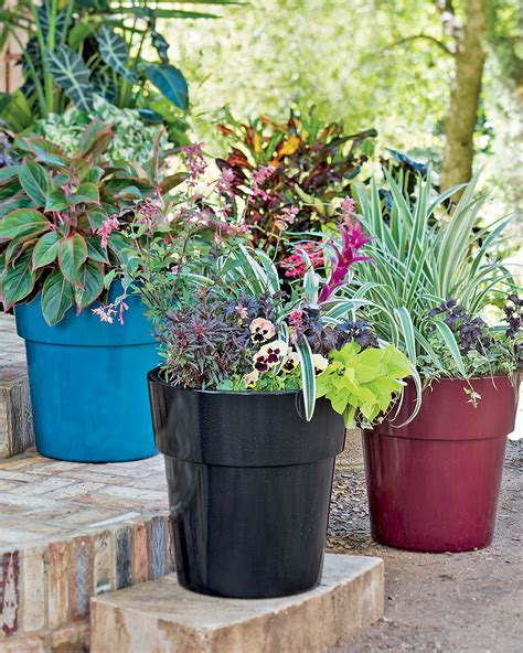 Buy Large Planters by Large Resin Planters Self Watering Plant Containers