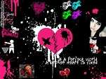 Emo Style Backgrounds - Twitter & Myspace Backgrounds
