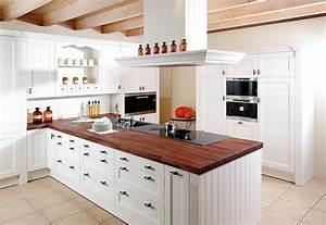 Küche Landhausstil Weiß : inselk che oxford im landhausstil in esche wei lackiert ~ Indierocktalk.com Haus und Dekorationen