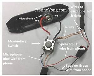 Wiring Diagram For Headphones With Mic  U2013 Powerking Co