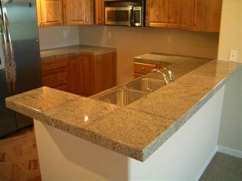 Granite Tile Countertop by 20 Pictures Of Simple Tile Kitchen Countertops Home