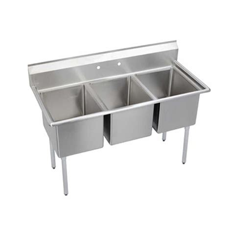 Elkay Foodservice 14 3c16x20 0x 3 Compartment Sink 16 Quot X
