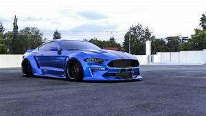 2018-2019 Ford Mustang Wide Body Kit by Clinched Flares