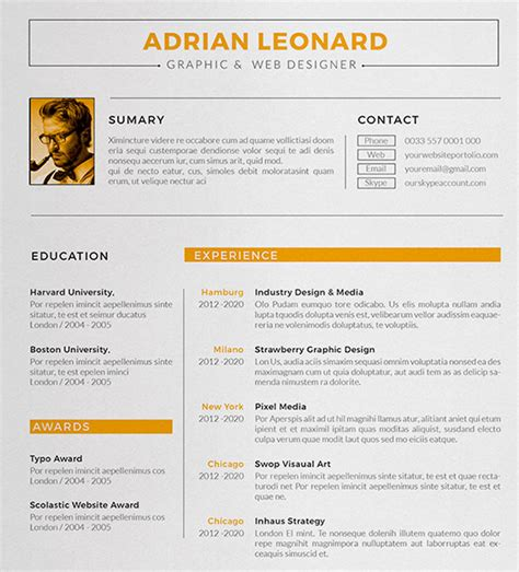 sample resume  design danayaus