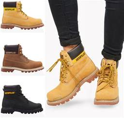 womens caterpillar boots size 9 womens 6 quot caterpillar colorado lace up ankle leather boots shoes size ebay
